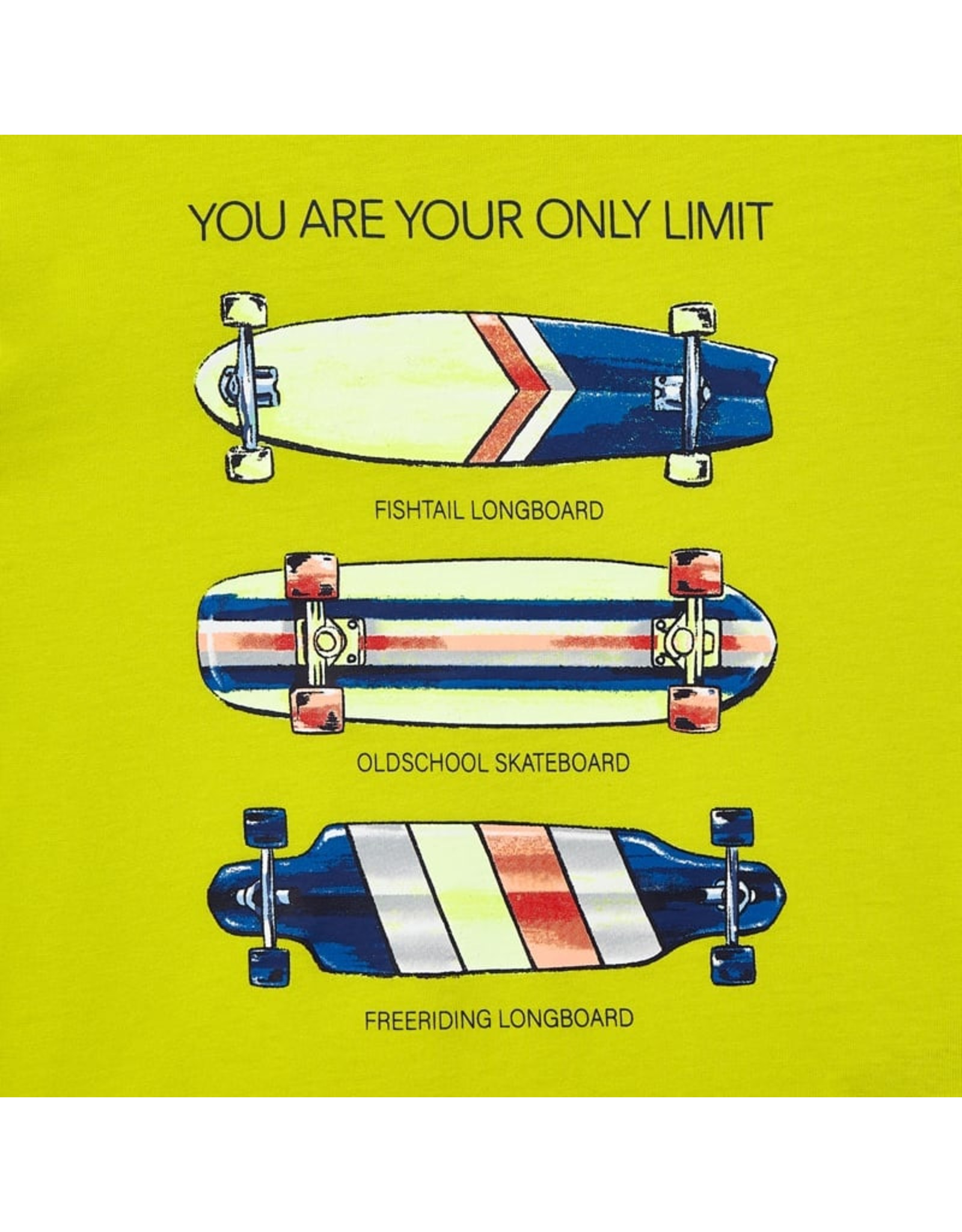 Mayoral skateboards s/s t-shirt  green