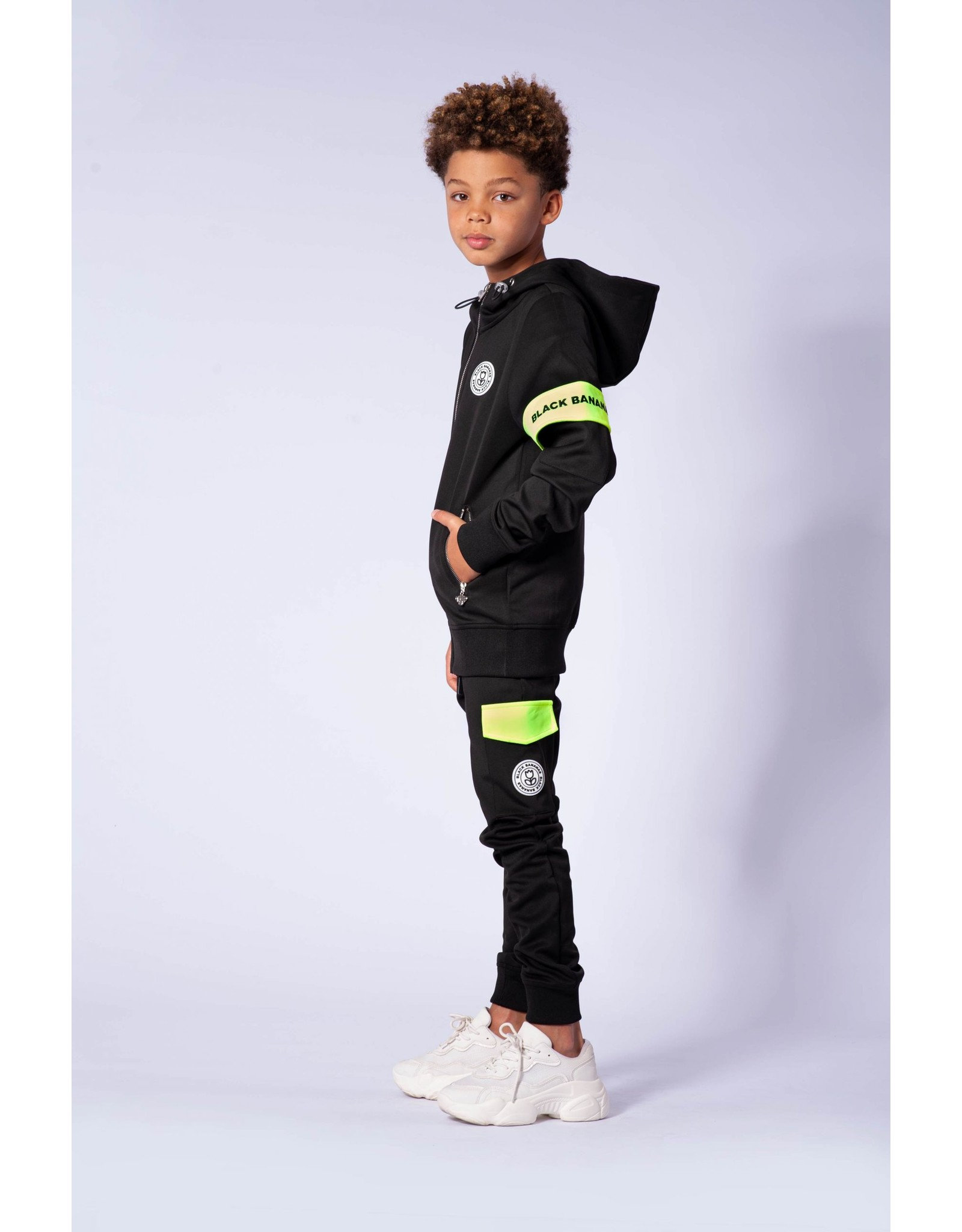 Black Bananas Jr. Command Tracksuit Black