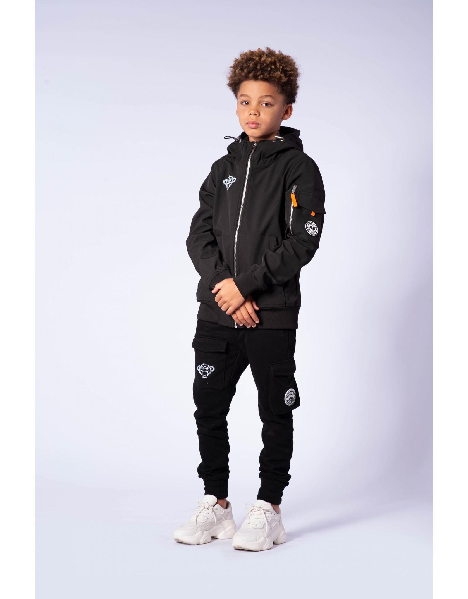 Black Bananas Jr. Softshell Jacket Black