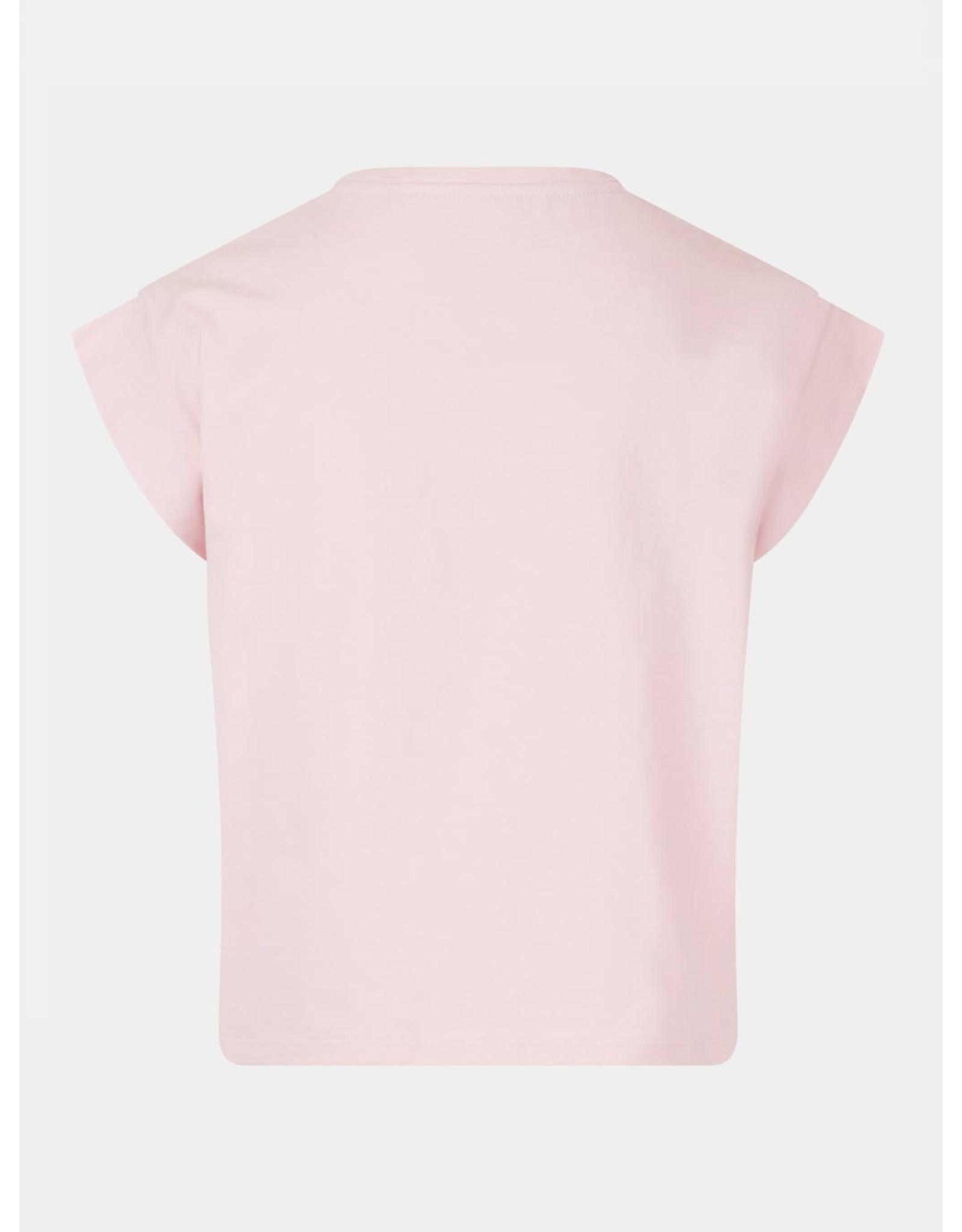 Guess T-shirt Katoen Logo Pink