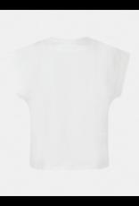 Guess T-shirt Katoen Logo White