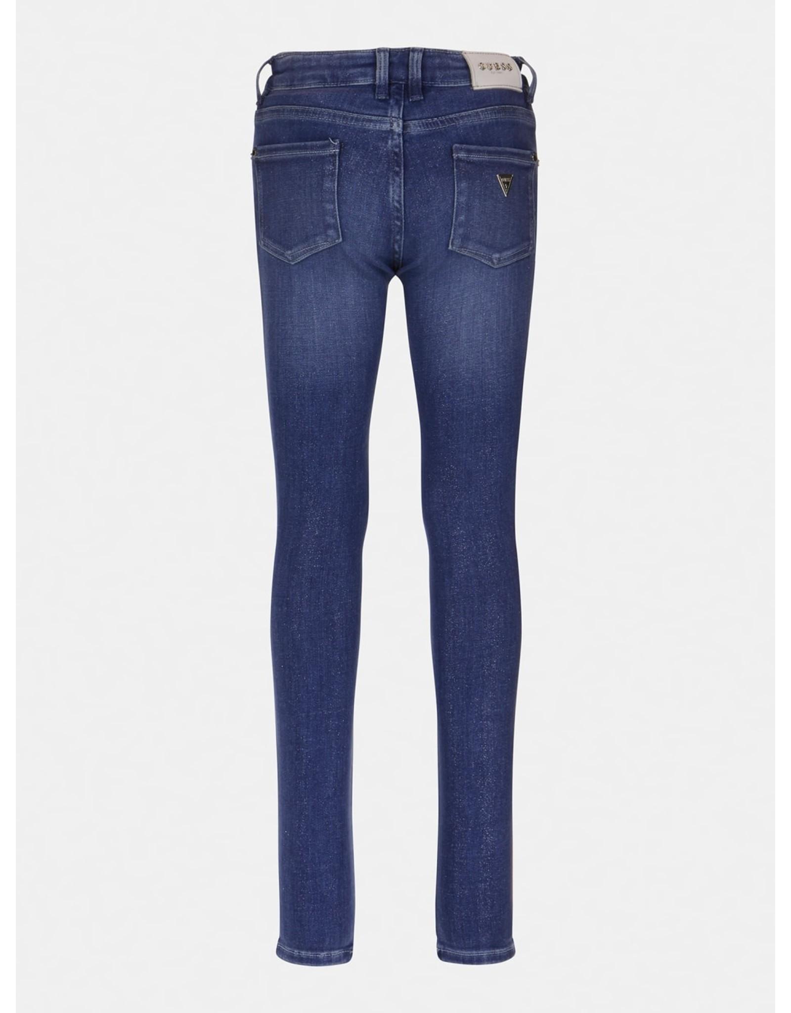 Guess Glitter Jeans Blue