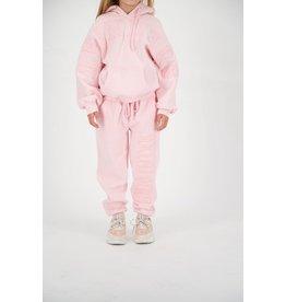 Reinders Pants Wording Tone to Tone Baby Pink
