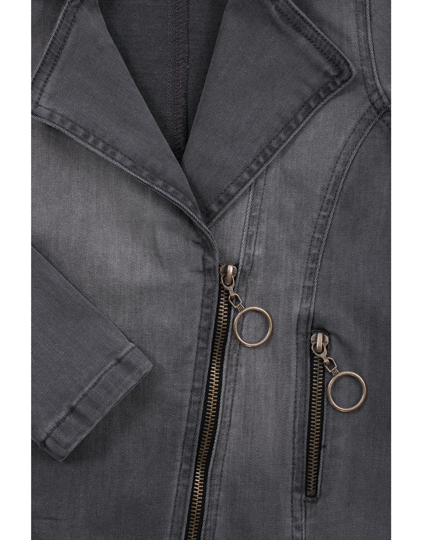 LOOXS 10sixteen biker jacket soft grey SOFT GREY
