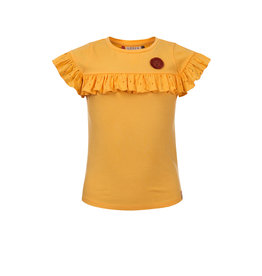 LOOXS Little t-shirt s. sleeve VANILLA YELLOW