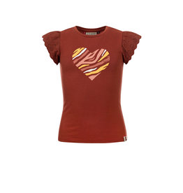 LOOXS Little t-shirt s. sleeve PECAN