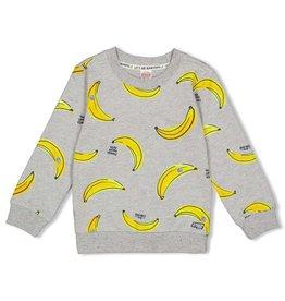 Sturdy Sweater AOP - Playground Grijs melange