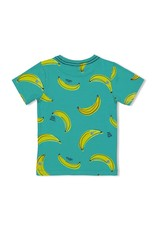 Sturdy T-shirt AOP Bananas - Playground Groen