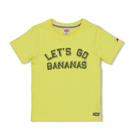 Sturdy T-shirt Let's Go - Playground Geel