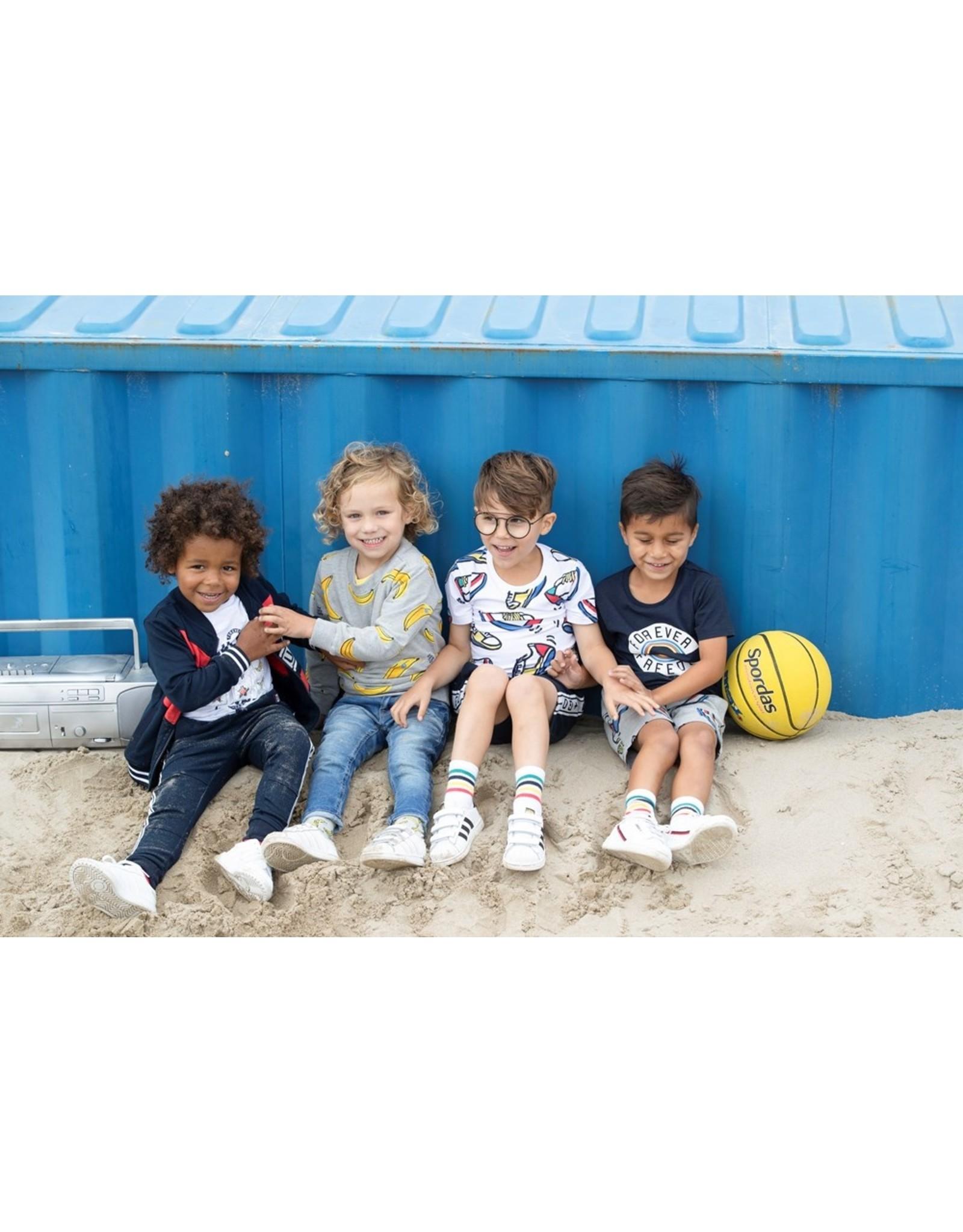 Sturdy Sweatbroek - Playground Rood