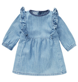 Noppies G Dress LS Melita Medium Wash