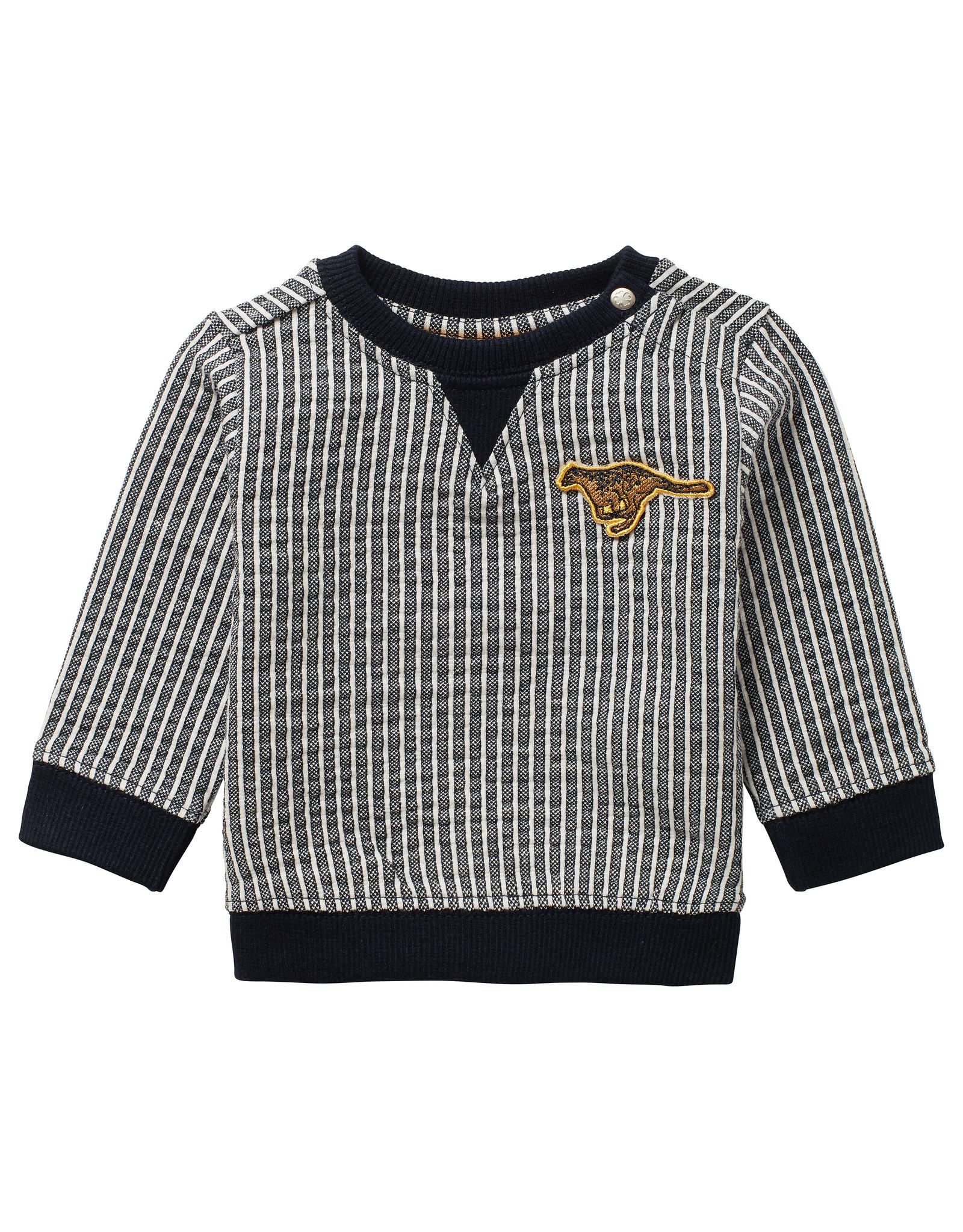 Noppies B y/d stripe Sweater Toft YD Str Dark Sapphire