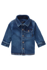 Noppies B shirt LS Tadley jogdenim Medium Blue Wash