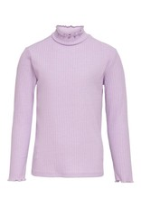 Kids Only Meisjes Konnella L/S High Neck Top Orchid Bloom