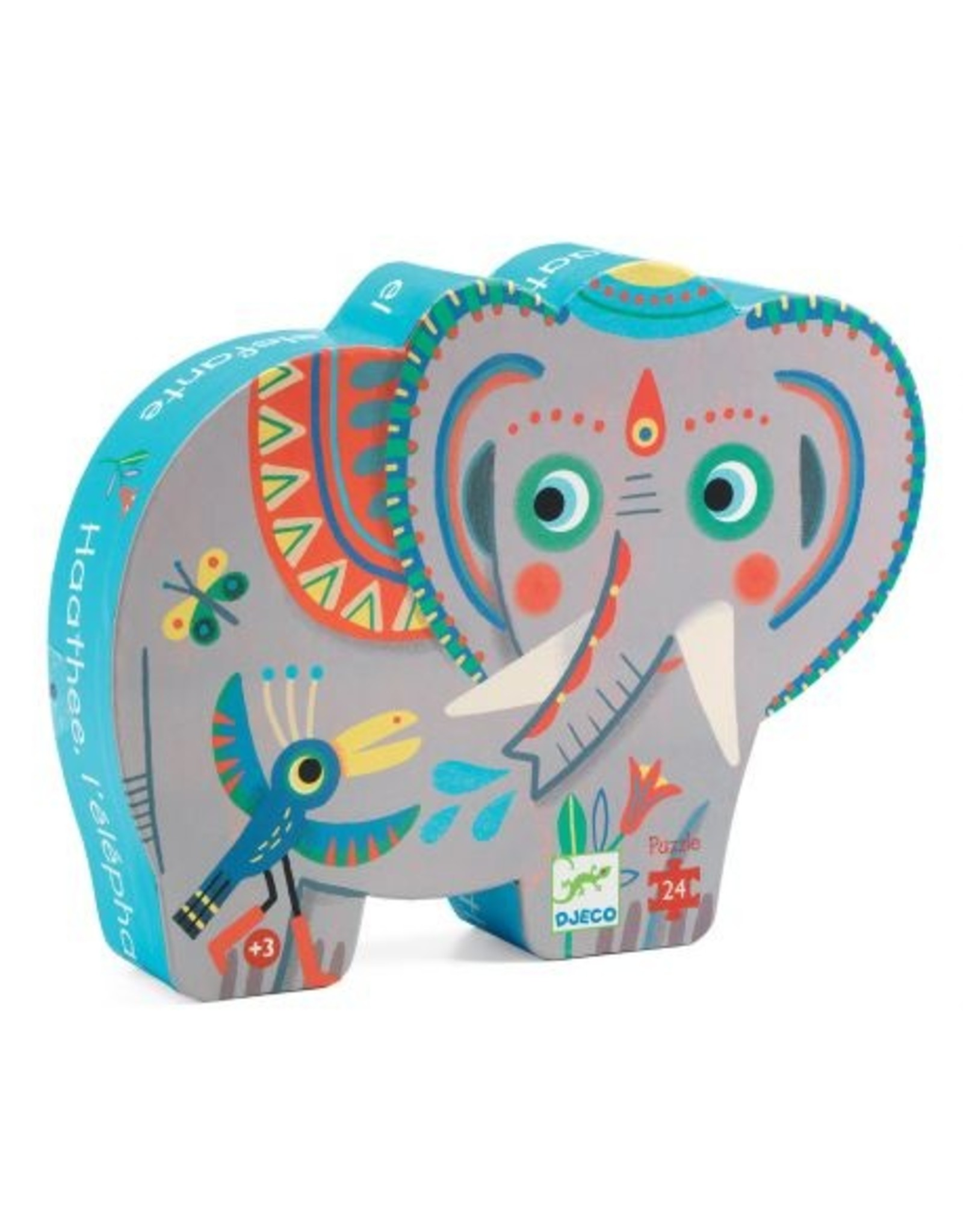 Djeco Silhouette puzzle Elephant DJ07208