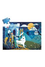 Djeco Silhouette puzzle Full Moon Knight DJ07237