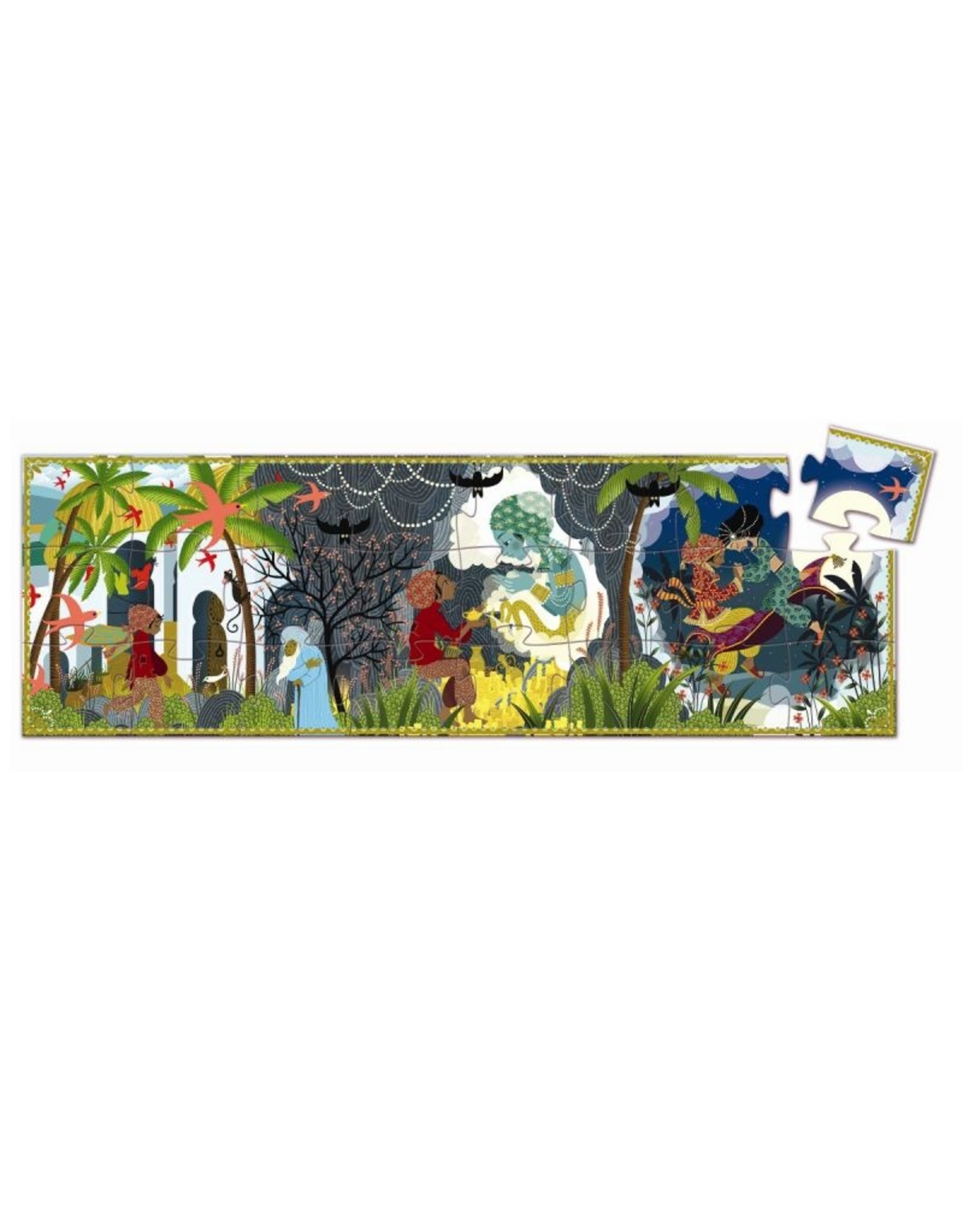 Djeco Silhouette puzzle Aladdin DJ07281