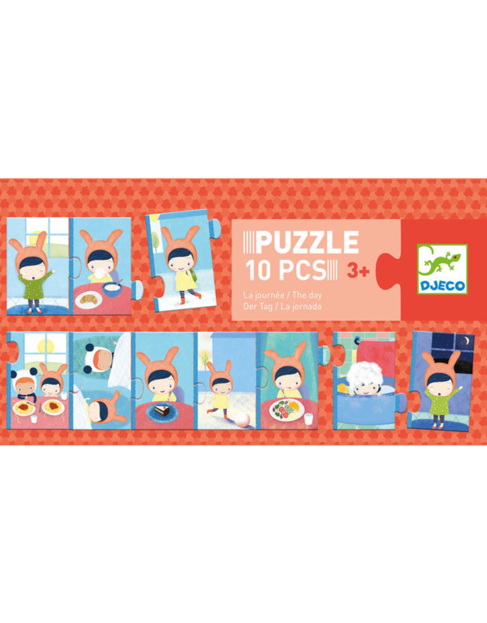 Djeco Puzzle Trio The Day DJ08179