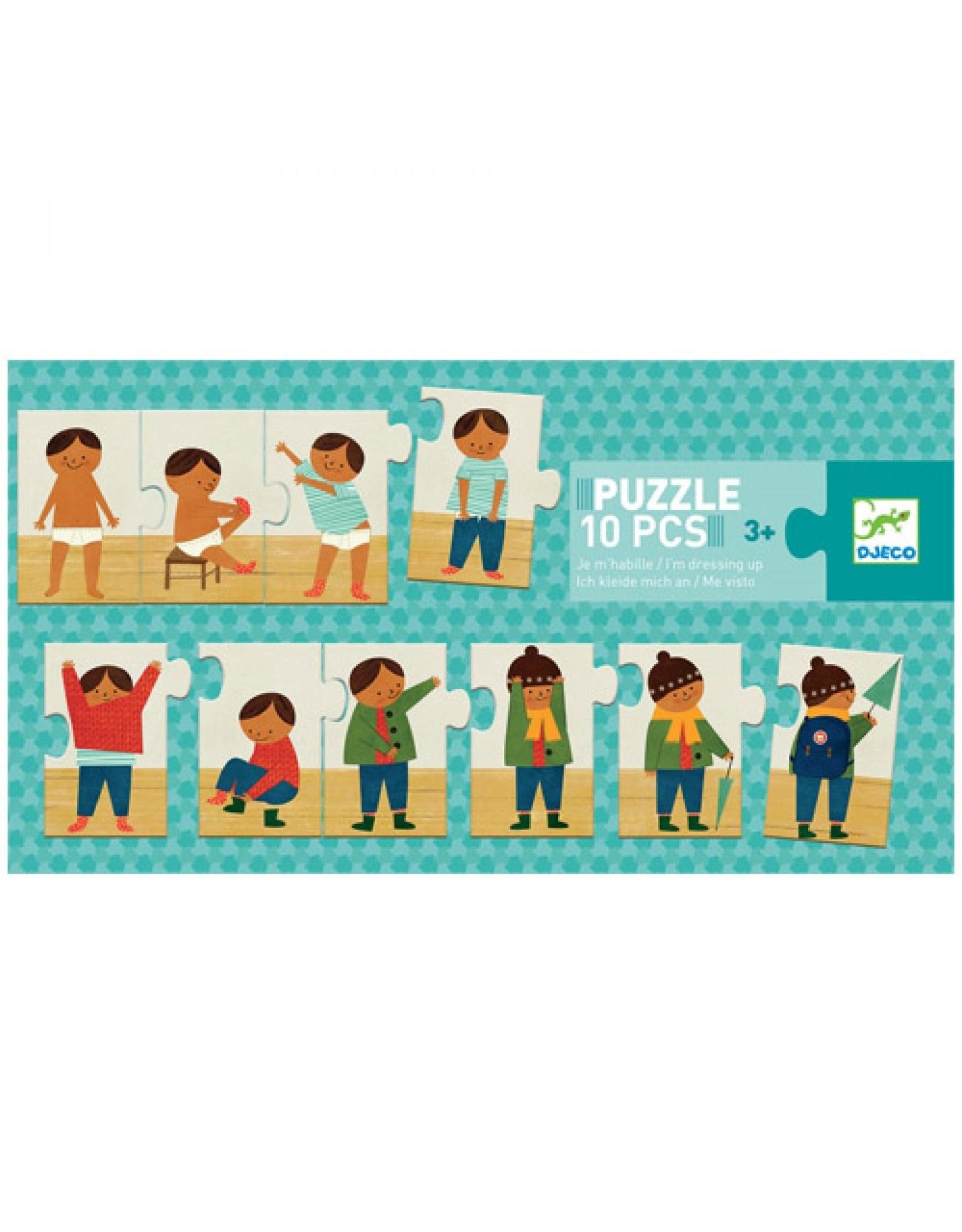 Djeco Puzzle Trio Dressing up DJ08178