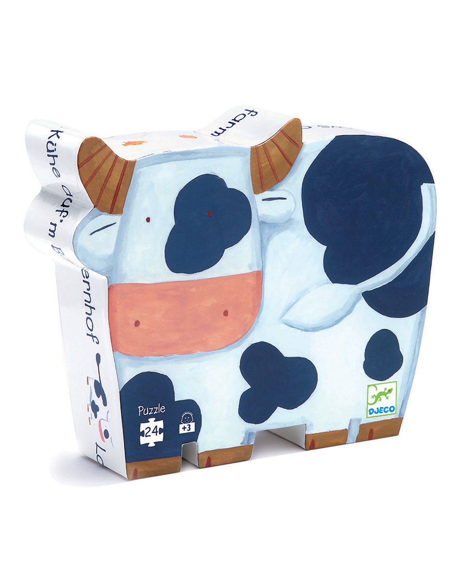 Djeco Silhouette puzzel Cows on the Farm DJ07205