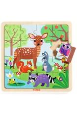 Djeco Houten puzzel Forest DJ01812