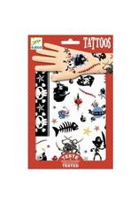 Djeco Tattoos Pirates DJ09584