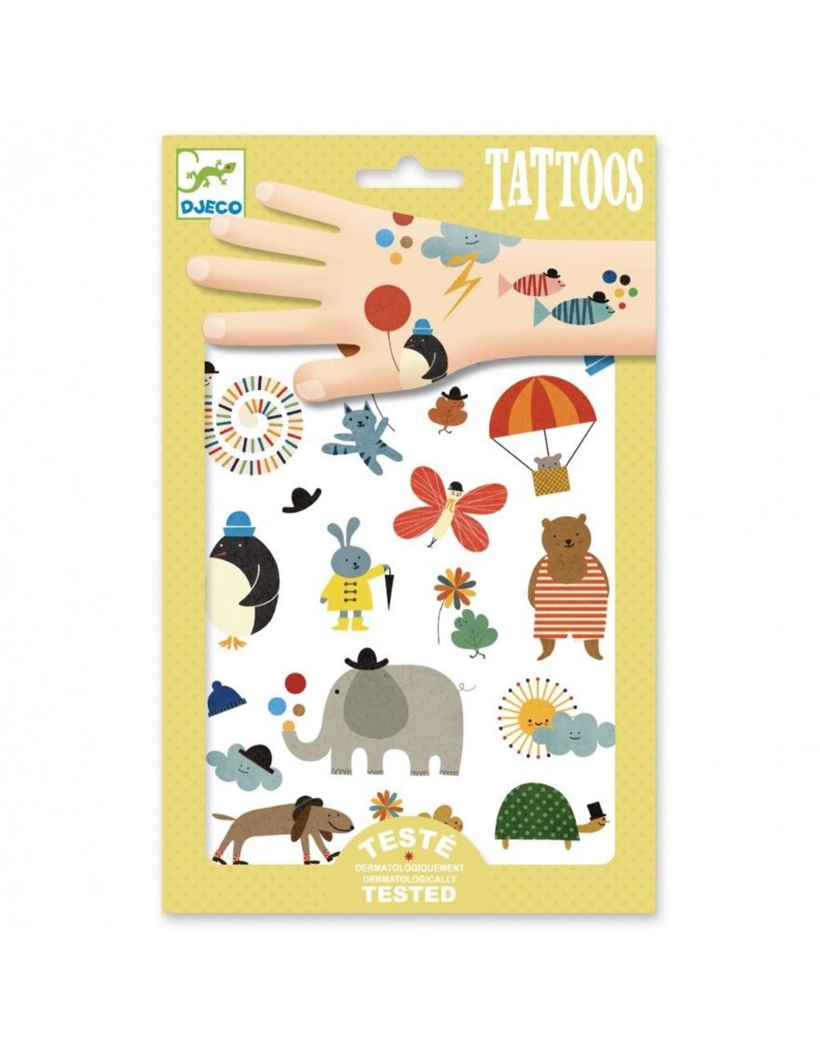 Djeco Tattoos Pretty Little Things DJ09579