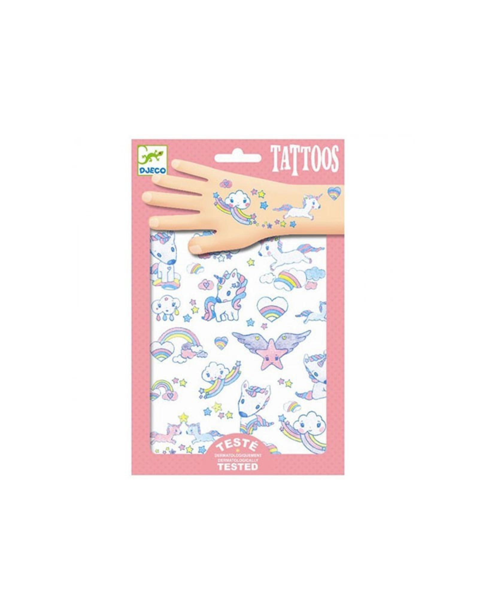 Djeco Tattoos Unicorns DJ09575