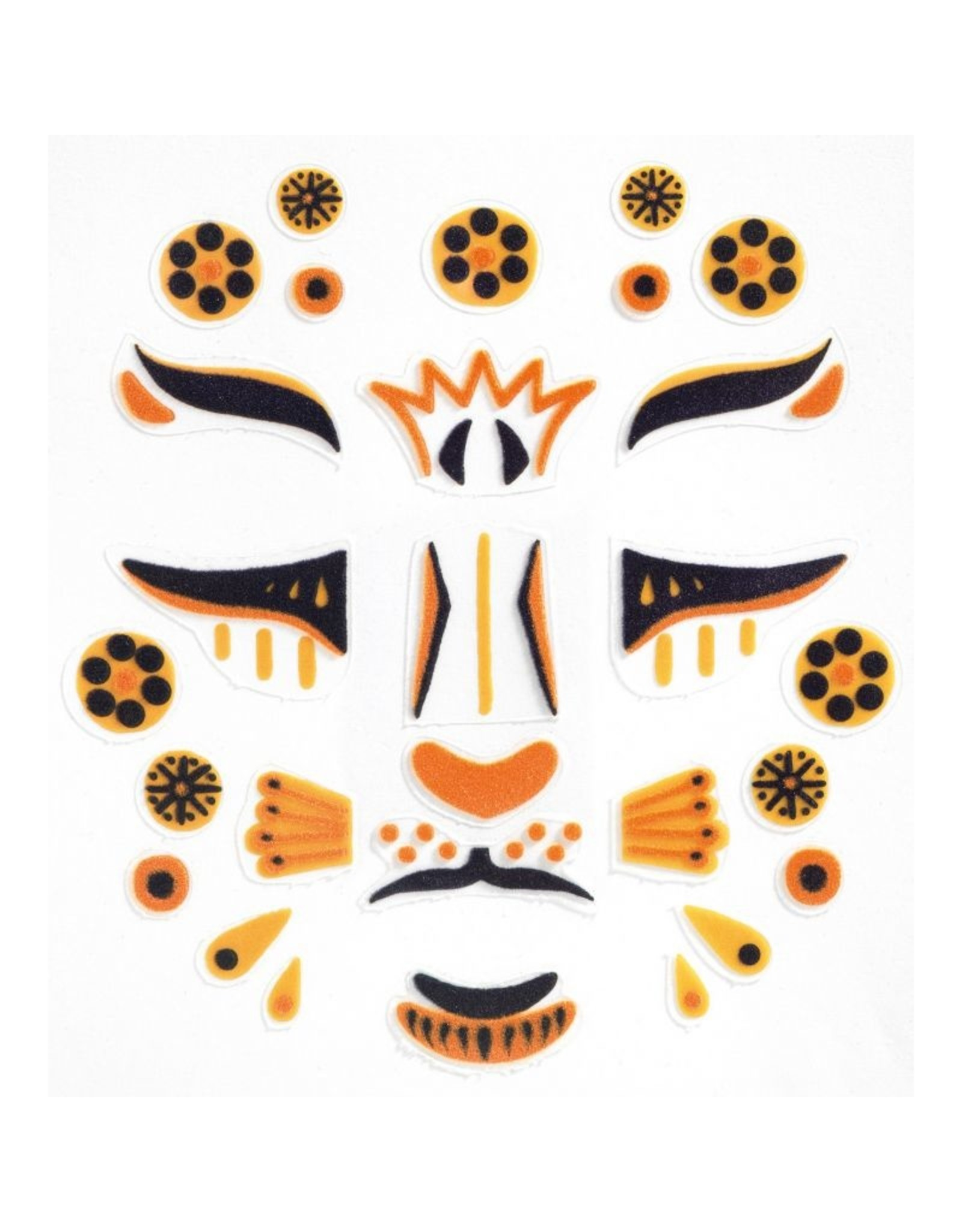 Djeco Face Stickers Leopard DJ09215