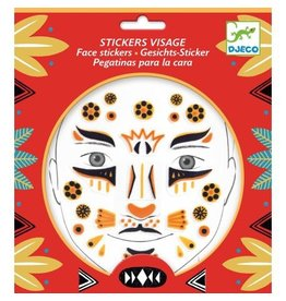 Djeco Face Stickers Leopard DJ09215