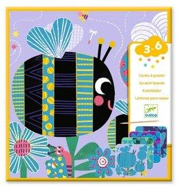 Djeco Scratch Cards Bugs DJ09092