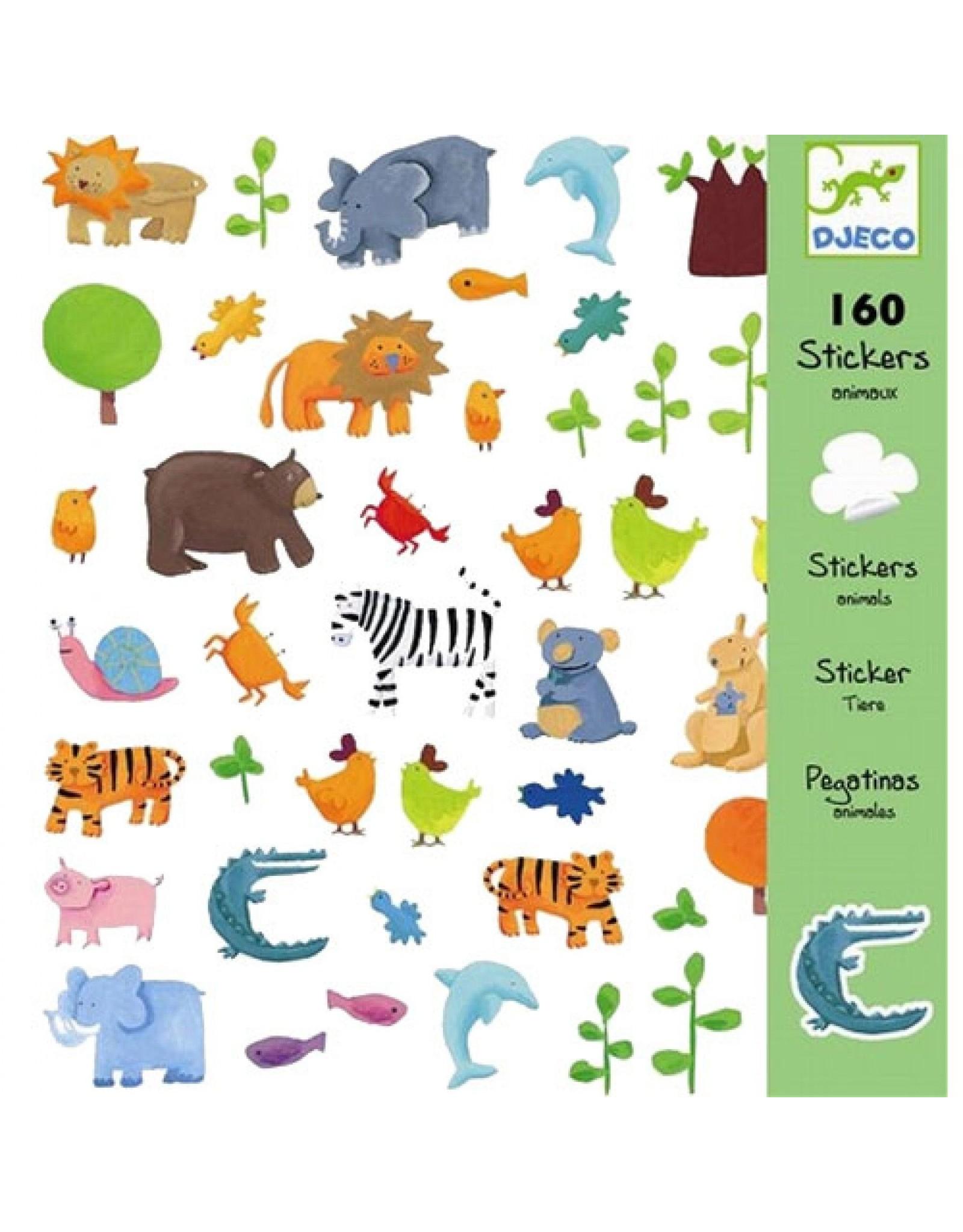 Djeco Stickers Animals DJ08841