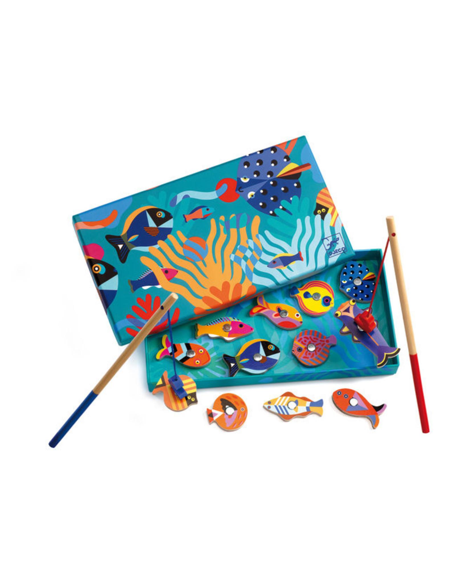 Djeco Magnetic Fishing Graphic DJ01658
