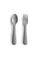 Mushie Fork Spoon Sage