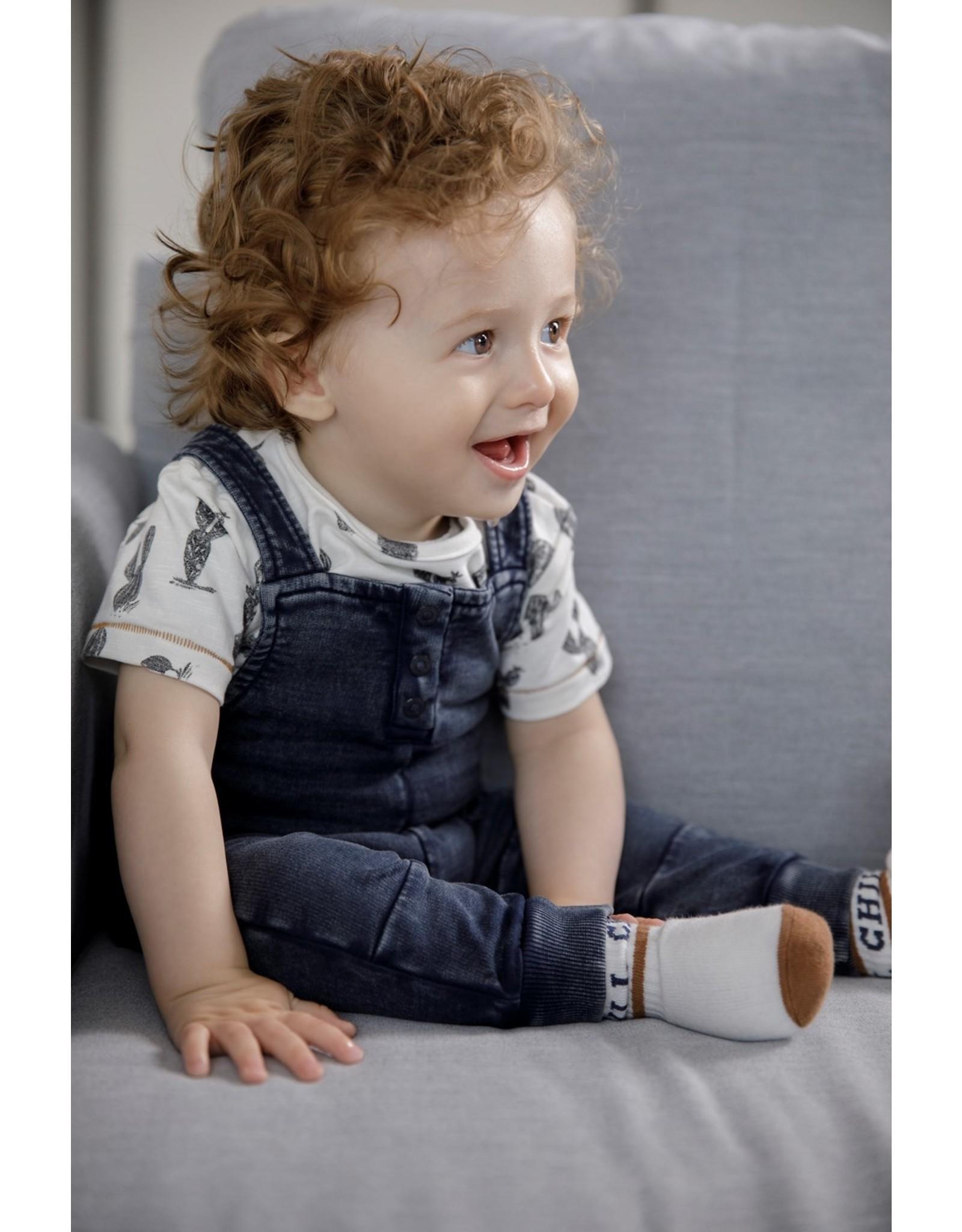 Feetje T-shirt AOP - Looking Sharp Offwhite