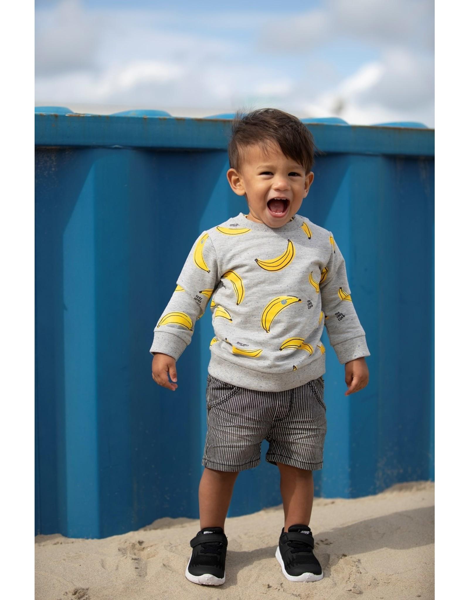 Feetje AOP Sweater - Playground Grijs melange