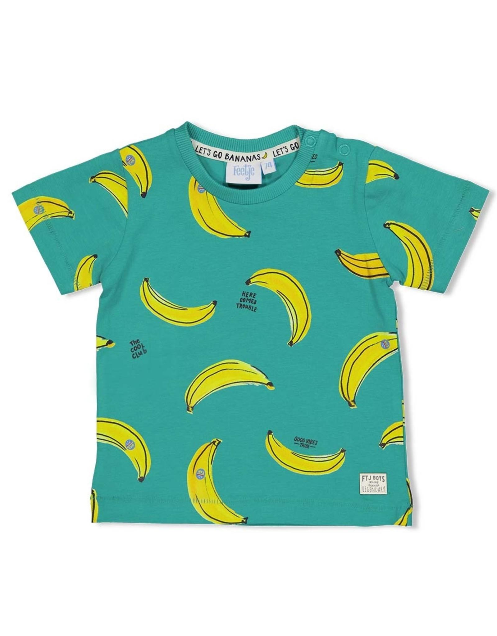 Feetje T-shirt AOP - Playground Groen