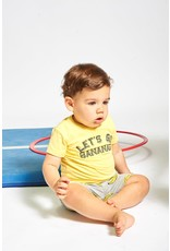 Feetje T-shirt Let's Go - Playground Yellow