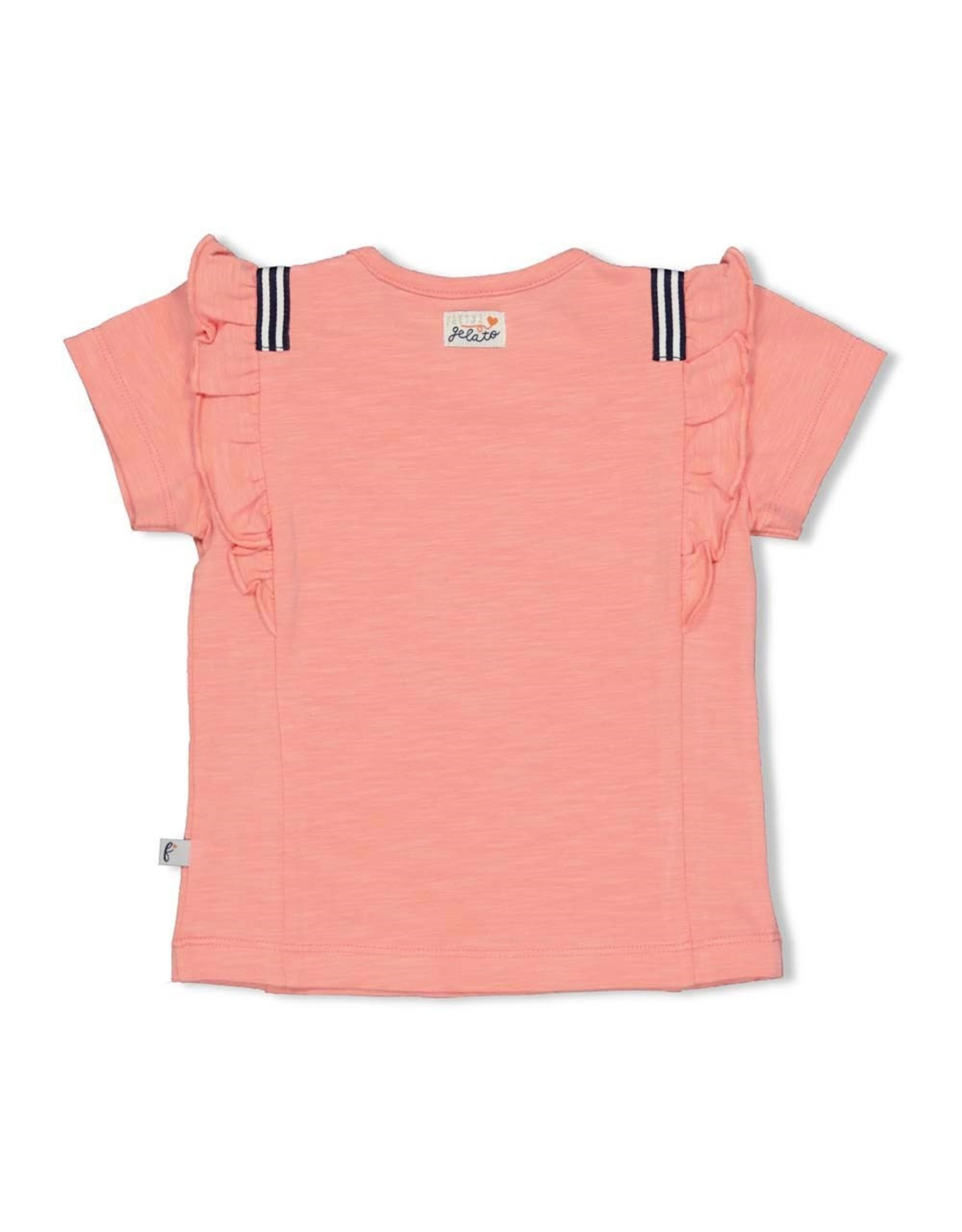Feetje T-shirt - Sweet Gelato Koraal