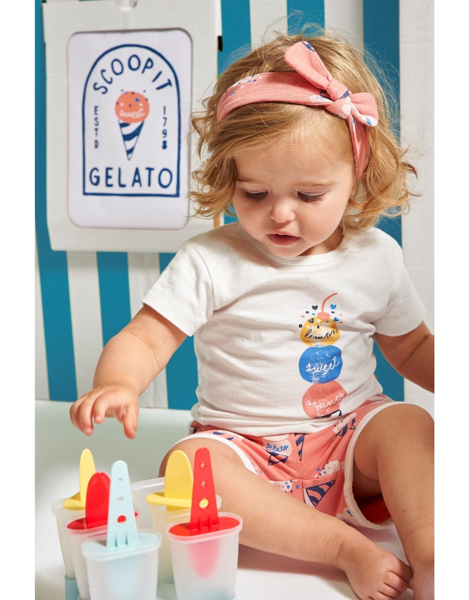 Feetje T-shirt - Sweet Gelato Offwhite