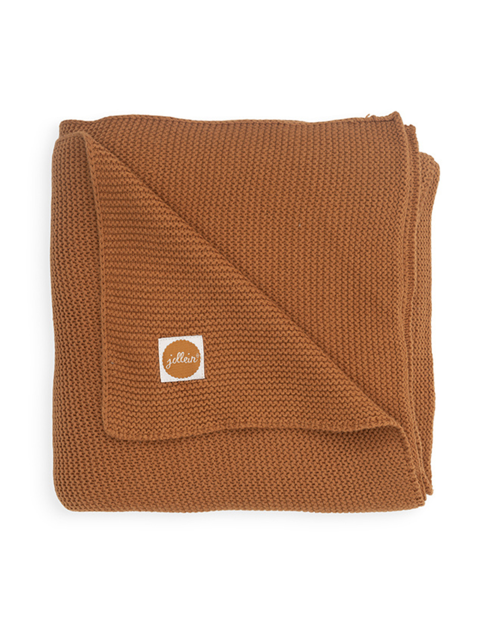 Jollein Deken 100x150cm basis knit caramel