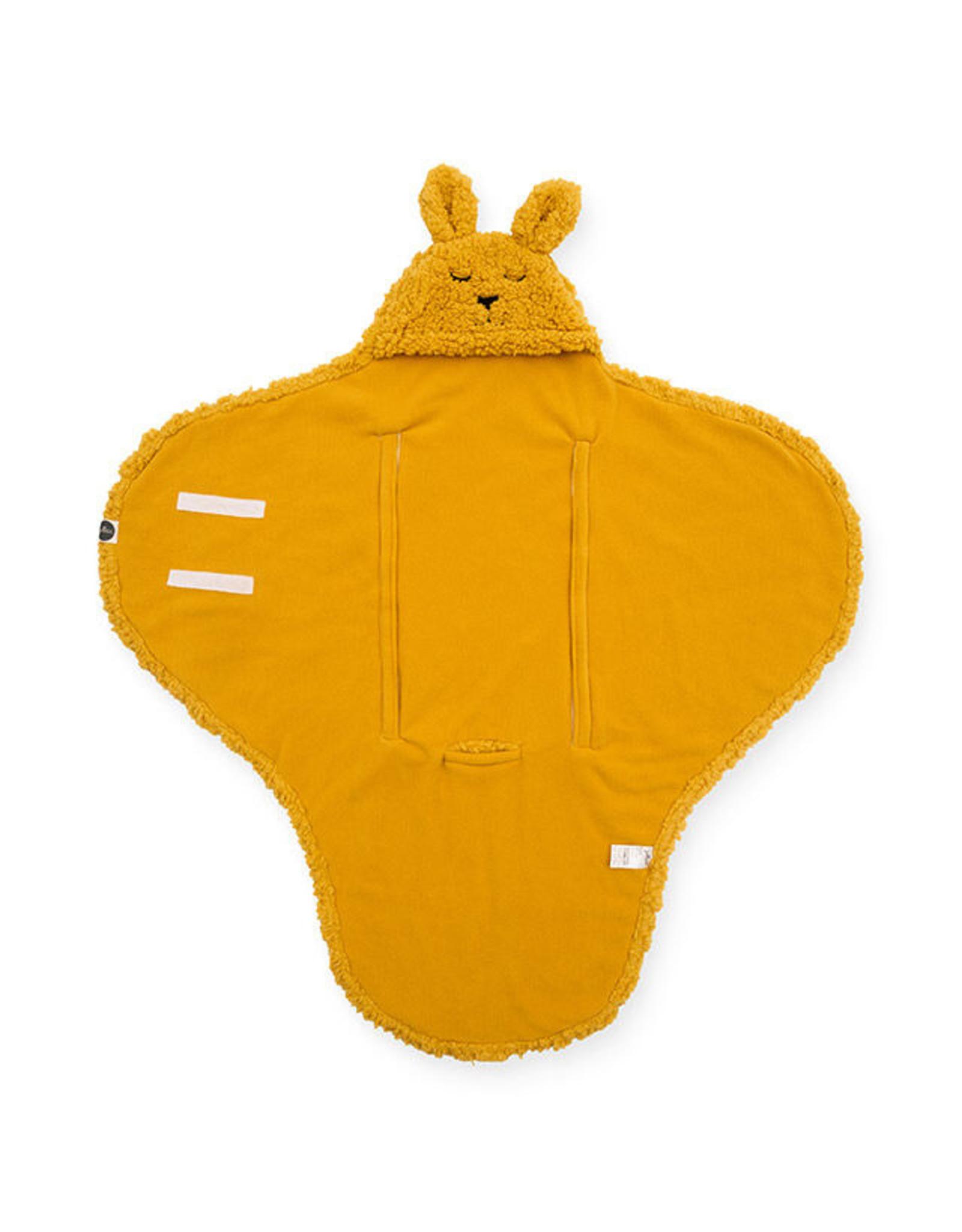 Jollein Wikkeldeken bunny Mustard