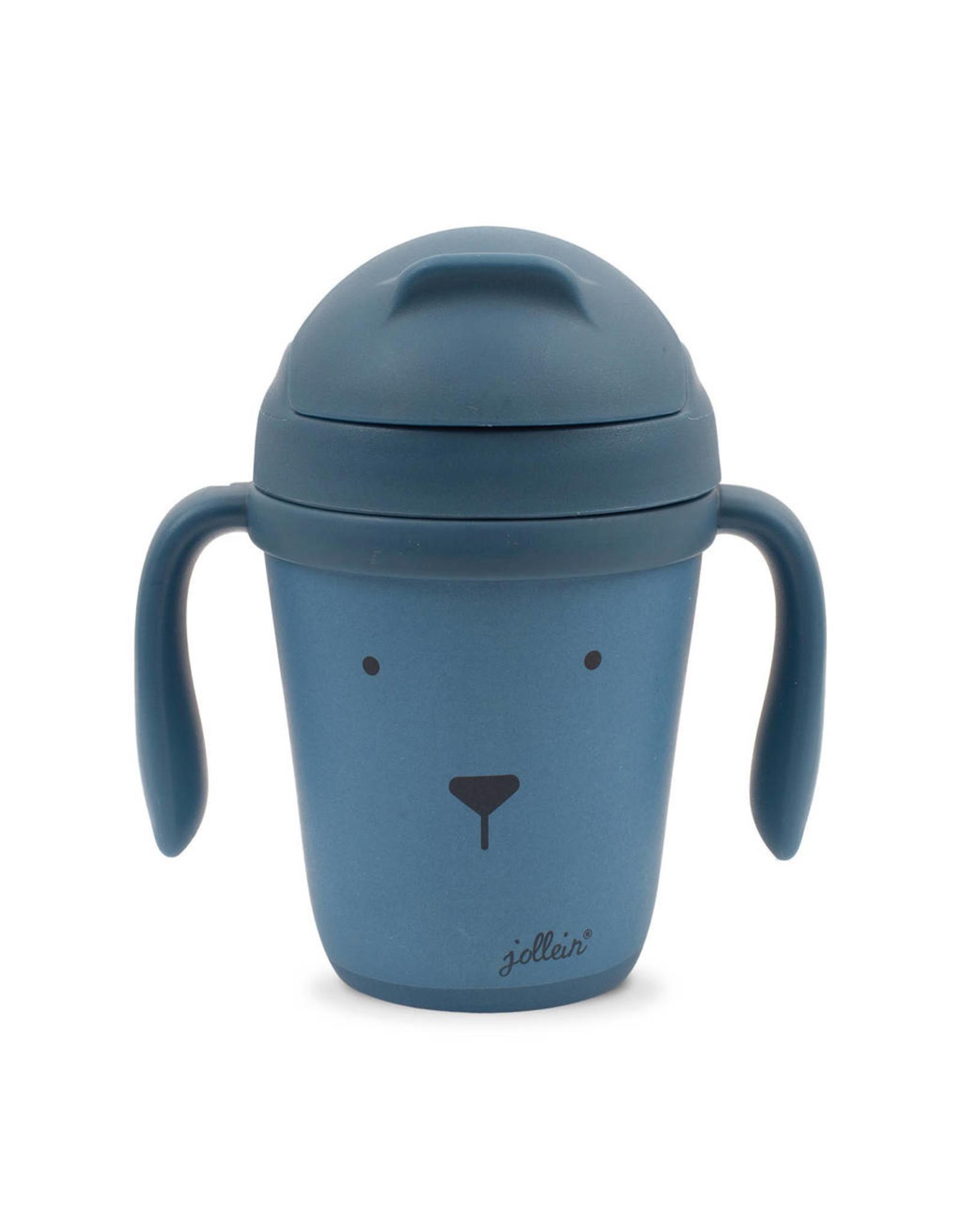 Jollein Drinkbeker animal steel blue