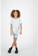 Reinders Legging Short Wording Baby Blue