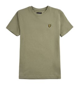 Lyle & Scott Boys Classic T Shirt Oil Green
