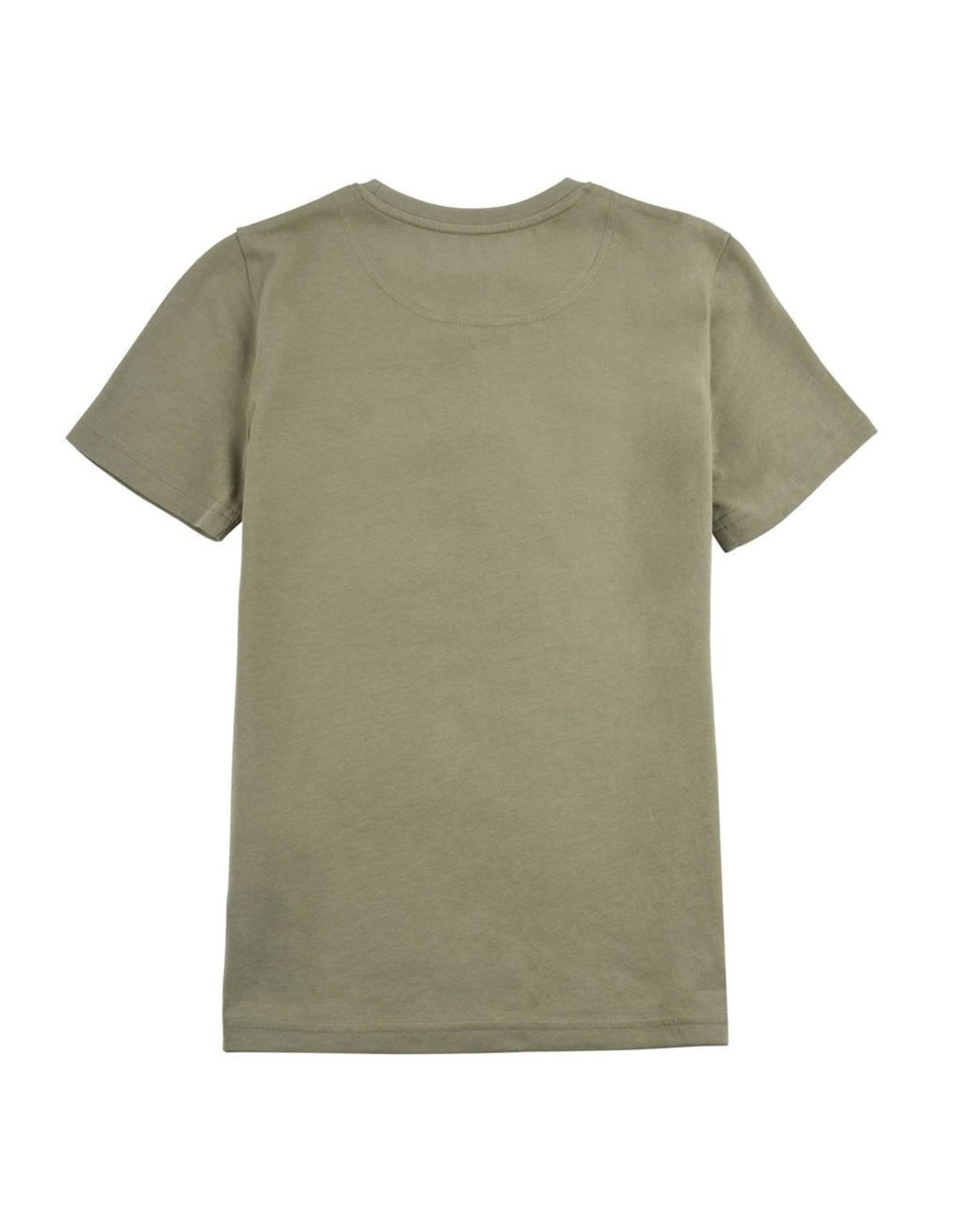 Lyle & Scott Boys Classic T Shirt Oil Green