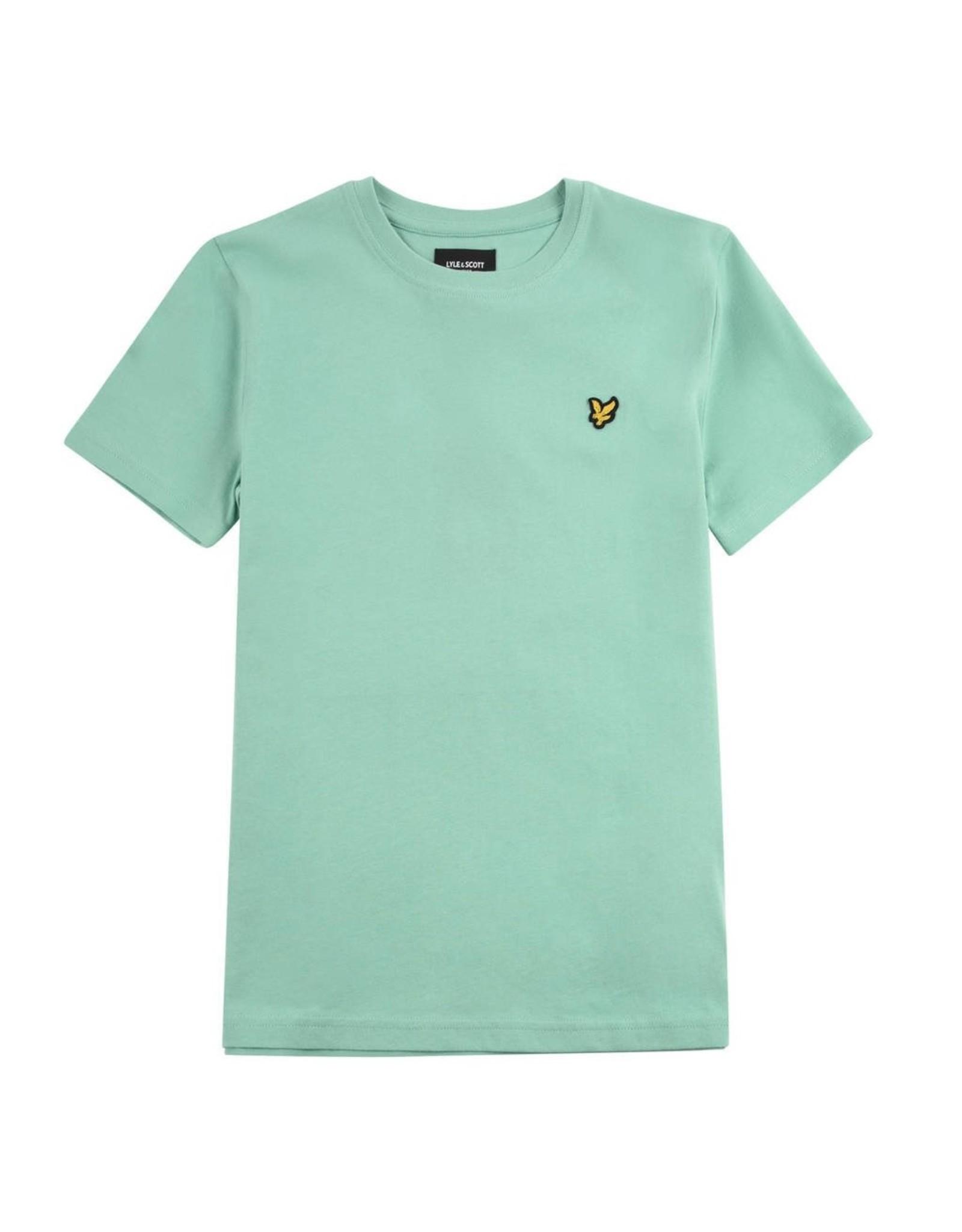 Lyle & Scott Boys Classic T Shirt Neptune Green