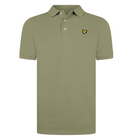 Lyle & Scott Boys Classic Polo Shirt Oil Green