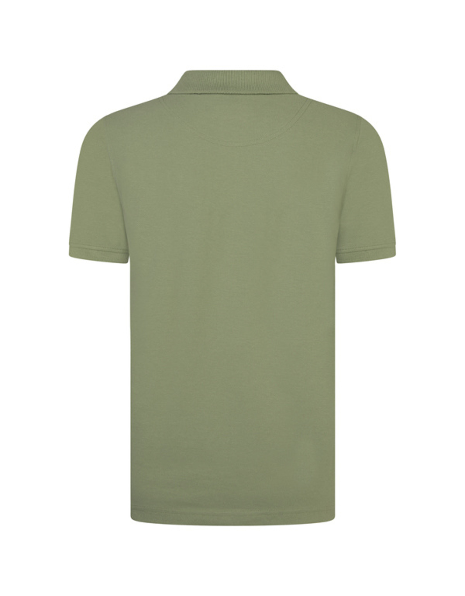 Lyle & Scott Boys Classic Polo Shirt Oil Green