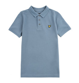 Lyle & Scott Boys Classic Polo Shirt Bluestone